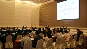 Participants at a Regional Training Course for Customs Authorities of States Parties in Asia on the Technical Aspects of the Transfers Regime of the Chemical Weapons Convention, which was held held in Bangkok, Thailand, from 25 to 28 August 2015.
