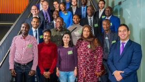 Participants at a Course on Chemical Safety Management for Member States in Africa held in Germany. Photo: Sven Adrian