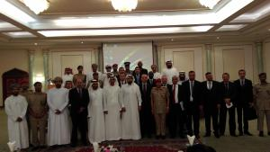 Participants at the basic Training Course on Assistance and Protection, which was held in Muscat, Oman from 24 to 28 April 2016.