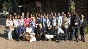 Participants workshop on Policy and Diplomacy for African scientists in Pretoria, South Africa from 18-20 October.