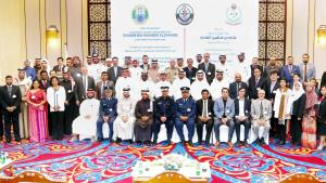 Specialists at the Fifth Seminar on Chemical Safety and Security Management, held from 21 – 23, February in Doha