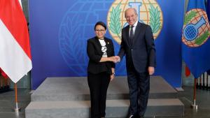 Foreign Minister of Indonesia, H.E. Mrs Retno Marsudi, Visits OPCW