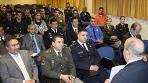 Participants at the basic regional course for first responders in Montevideo