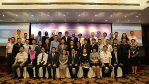 Participants from the Executive Programme on Integrated Chemicals Management, which was held in Shanghai, China from 29 August - 1 September 2017.