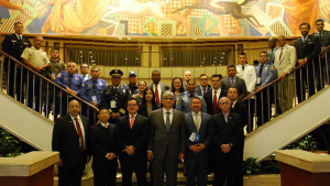 The Deputy Director-General of the Organisation for the Prohibition of Chemical Weapons (OPCW), Mr Hamid Ali Rao, during his official visit to Mexico