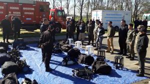 Twenty-four first responders advanced their skills in managing chemical emergencies at the advanced course for countries from Latin America and the Caribbean