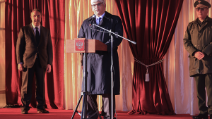 OPCW Deputy Director-General Hamid Ali Rao speaking at a ceremony on the completion of operations at the Kizner Chemical Weapons Destruction Facility in the Udmurt Republic. This also marks the completion of the full destruction of the 39,967 metric tons of chemical weapons that had been possessed by the Russian Federation.