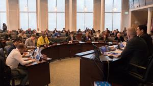 Representatives of National Authorities and other institutions at an OPCW training in The Hague, the Netherlands