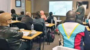Chemistry professionals from African Member States enhanced their chemical analysis capabilities during an Analytical Chemistry Course