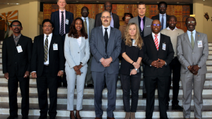 Participants at the workshop on strengthening international and regional partnerships for effective CWC implementation in Africa. Photo credit and copyright: African Union Commission. All rights reserved.