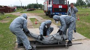 An international group of Russian speaking first responders is better equipped to deal with chemical emergencies after a course at the International Rescue Training Centre
