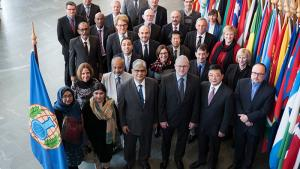 Participants at the OPCW's 27th Scientific Advisory Board (SAB)
