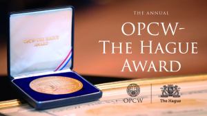 The OPCW-The Hague Award