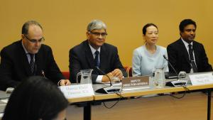 OPCW Deputy Director-General, Ambassador Hamid Ali Rao, at the launch of OPCW's 19th annual Associate Programme.