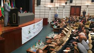 OPCW Deputy Director-General, Ambassador Hamid Ali Rao, during his opening speech at a training-for-trainers in Algiers
