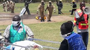 Emergency medical response to a chemical incident