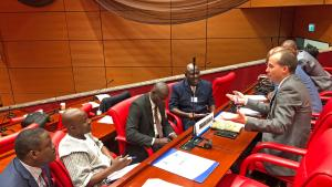 National Authority representatives along with security and legal experts from the Sahel and West Africa identified possible ways of strengthening their capacities for addressing chemical terrorism during the workshop on the role of implementing legislation of the Chemical Weapons Convention (CWC) in addressing threats posed by non-State actors