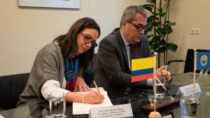 Visit Vice-Minister of Multilateral Affairs of Colombia visits OPCW