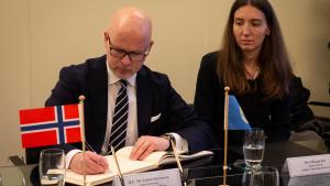 The State Secretary for Foreign Affairs of the Kingdom of Norway, H.E. Mr Audun Halvorsen