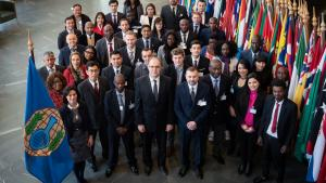 Participants at an OPCW General Training Course from 25 February -1  March