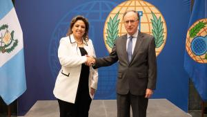 Guatemala's Minister of Foreign Affairs Visits OPCW
