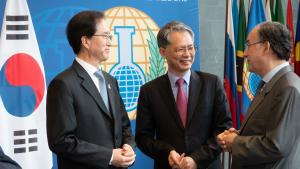 Republic of Korea's Deputy Foreign Minister for Multilateral and Global Affairs Visits OPCW