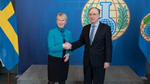 Sweden's Minister for Foreign Affairs Visits OPCW