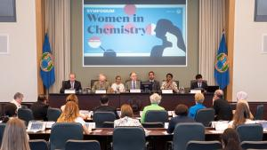 OPCW Director-General, H.E. Mr Fernando Arias, opens our Annual Women in Chemistry Symposium