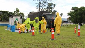 First responders acquired essential knowledge on handling emergencies involving hazardous chemicals after an Exercise on Assistance and Protection against Chemical Weapons