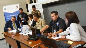 Participants during a Regional Pilot Workshop held in Lima, Peru