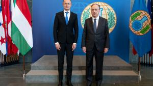 Hungary's Minister of Foreign Affairs and Trade Visits OPCW