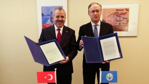 Turkey Contributes €30,000 to Future OPCW Centre for Chemistry and Technology
