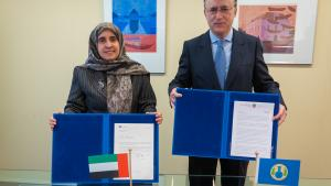 United Arab Emirates Contribute €100,000 to Future OPCW Centre for Chemistry and Technology