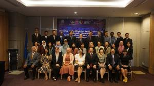Participants a workshop on Chemical Supply Chain Safety and Security Management held in Bogor