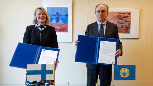 Finland Contributes €200,000 to Support OPCW Activities and Centre for Chemistry and Technology