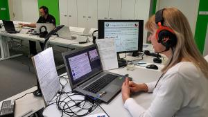 The Online Basic Training course on Wireless Information System for Emergency Responders (WISER) and the Use of Emergency Response Guidebook (ERG) for First Responders in progress